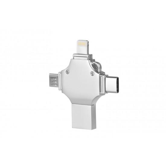4 Başlı OTG Promosyon 16 GB USB
