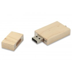16GB Ahsap USB Bellek Promosyonluk