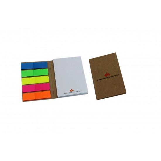 Karton ve Sert Kapaklı Promosyon Yapışkanlı Notluk