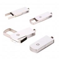 Döner Mekanizmalı Metal USB Flash Bellek 8 - 16 gb
