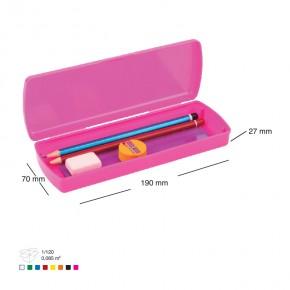 Kapaklı Plastik Kalemlik, Kalem Kutu Promosyon
