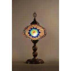 Masaüstü Mozaik Türk Lambası