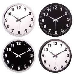 Plastik Çerçeveli Duvar Saati