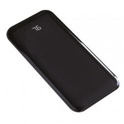 8000 mAh 2 USB Şarj Göstereli Promosyon Cam Görünümlü Powerbank
