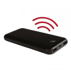 8000 mAh lcd Ekranlı Kablosuz Promosyon Samanyolu Powerbank