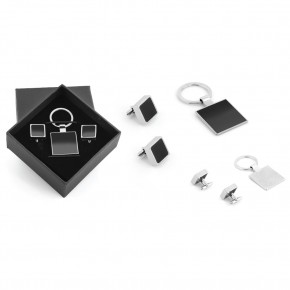 Promosyon Kol Düğmeli Metal Kutulu Set