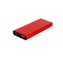 3000 mah Powerbank Kalem 16 GB OTG Bellek Promosyon Kırmızı Set