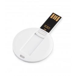 Promosyon Yuvarlak 16 GB İnce USB Bellek