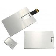 8 GB Metal kart USB Bellek Promosyonluk
