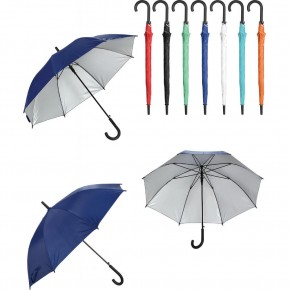 Fiber Glass Plastik Saplı Kırılmaz Şemsiye