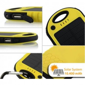 Güneş Enerjili 10400 mah Solar Powerbank