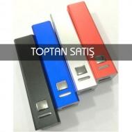Metal Kasa Renkli 2600 mAh Promosyon Powerbank-Toptan