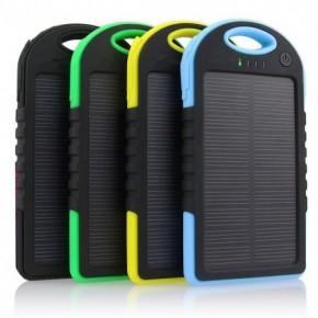 Güneş Enerjili 5000 mAh Solar Powerbank